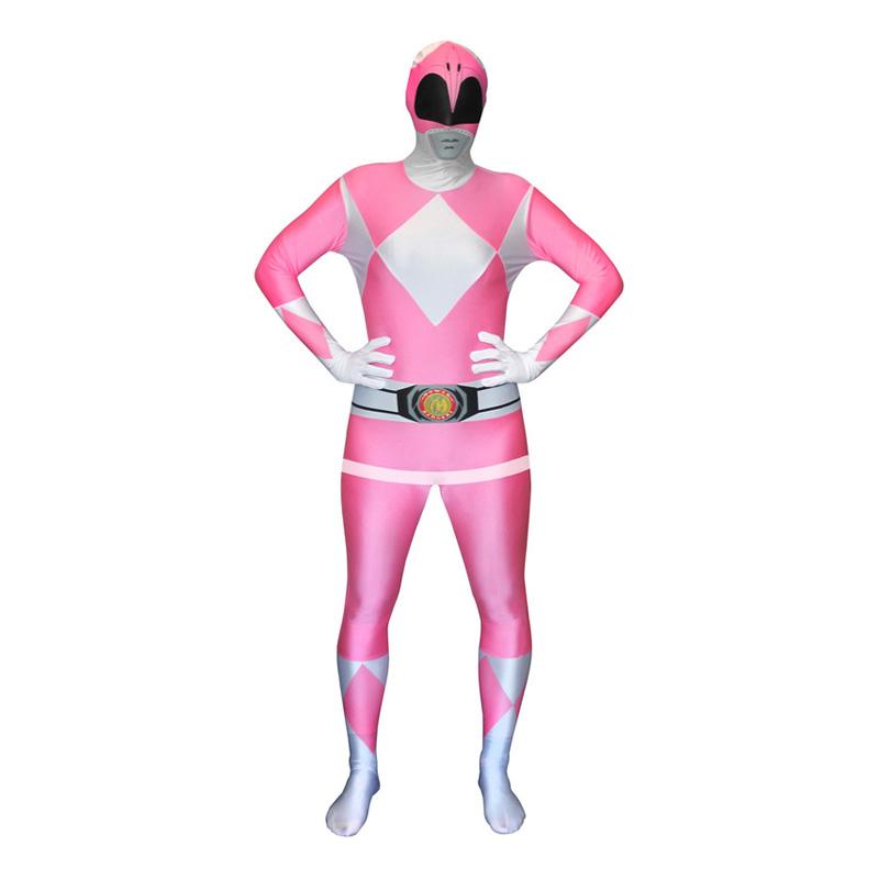 Power Ranger Rosa Morphsuit - Large
