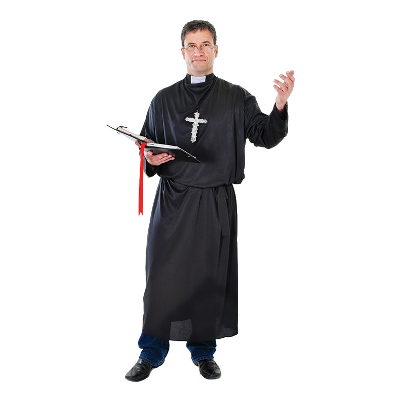 Präst Budget Maskeraddräkt - One size