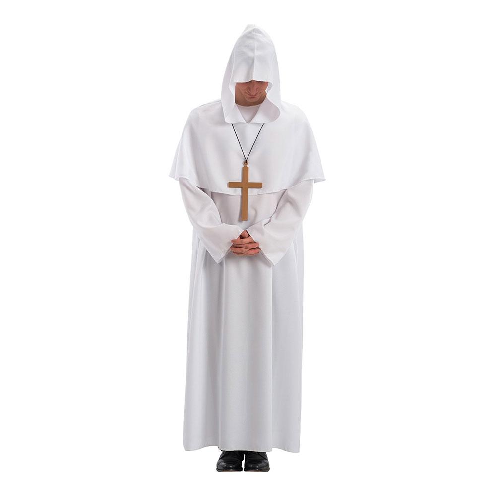 Präst Vit Maskeraddräkt - One size