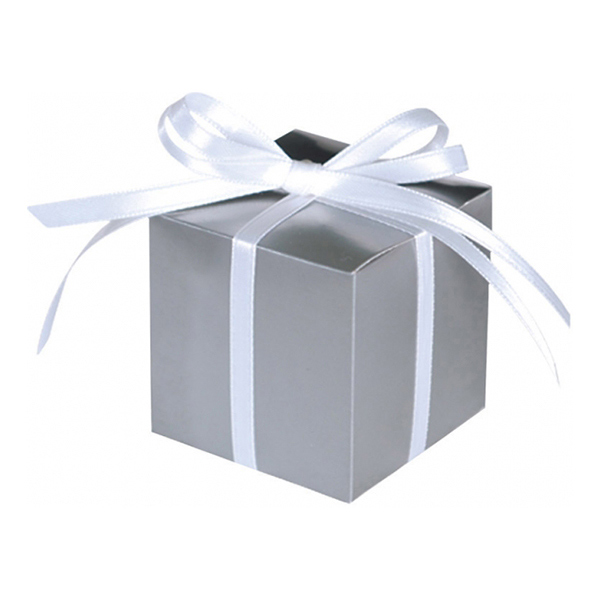 Presentaskar Silver - 100-pack