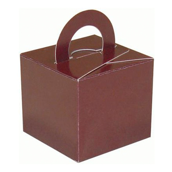 Ballongvikt Presentbox av Papp Brun - 10-pack