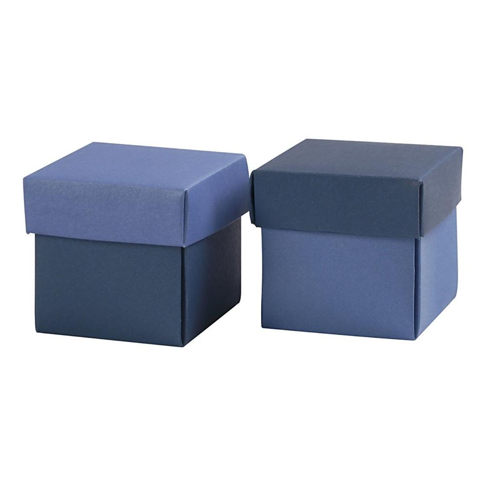 Presentaskar Ljusblå/Mörkblå - 10-pack