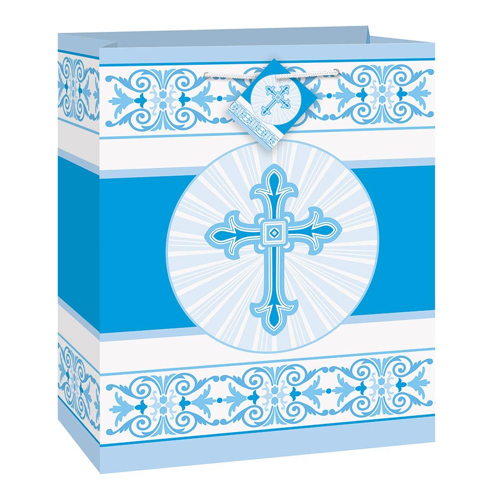 Presentpåse Kors Blå billigt online  6219a33772196