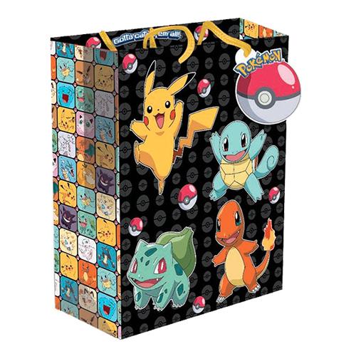 Presentpåse Pokemon Stor