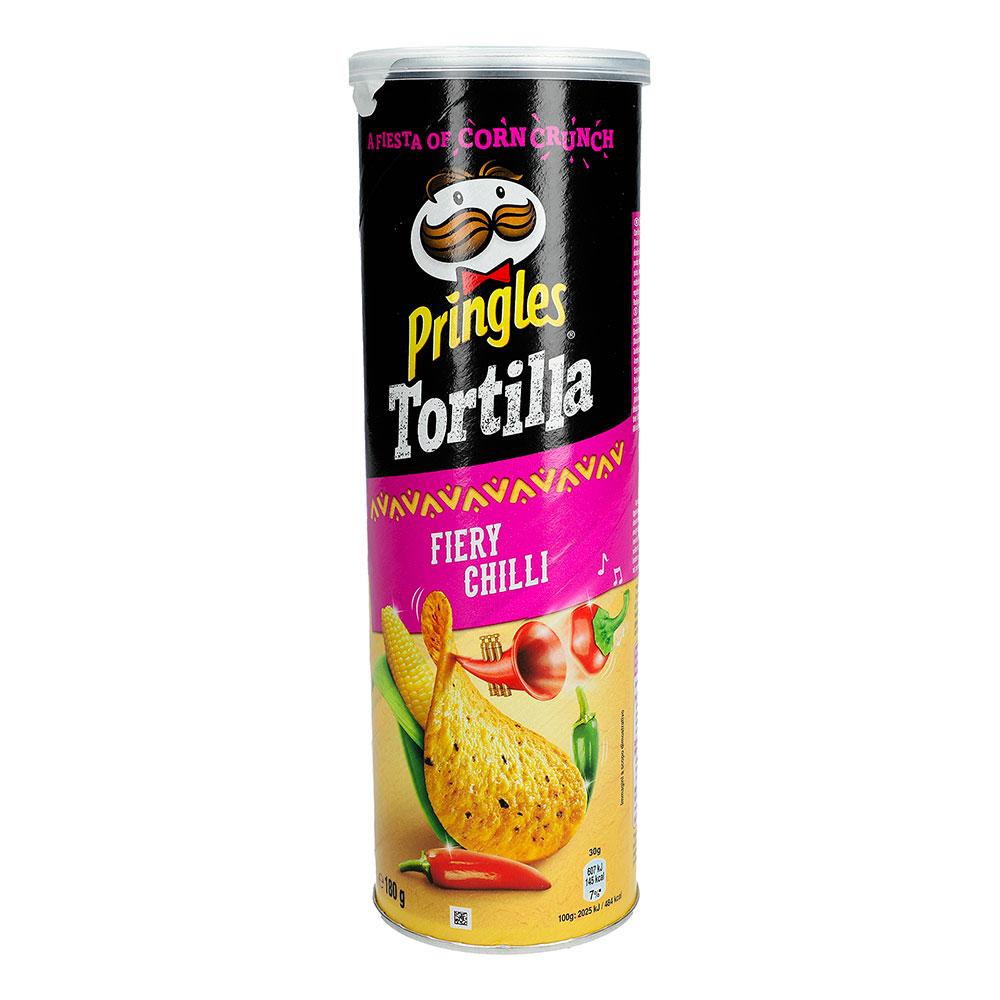 Pringles Tortilla Fiery Chilli - 180 gram