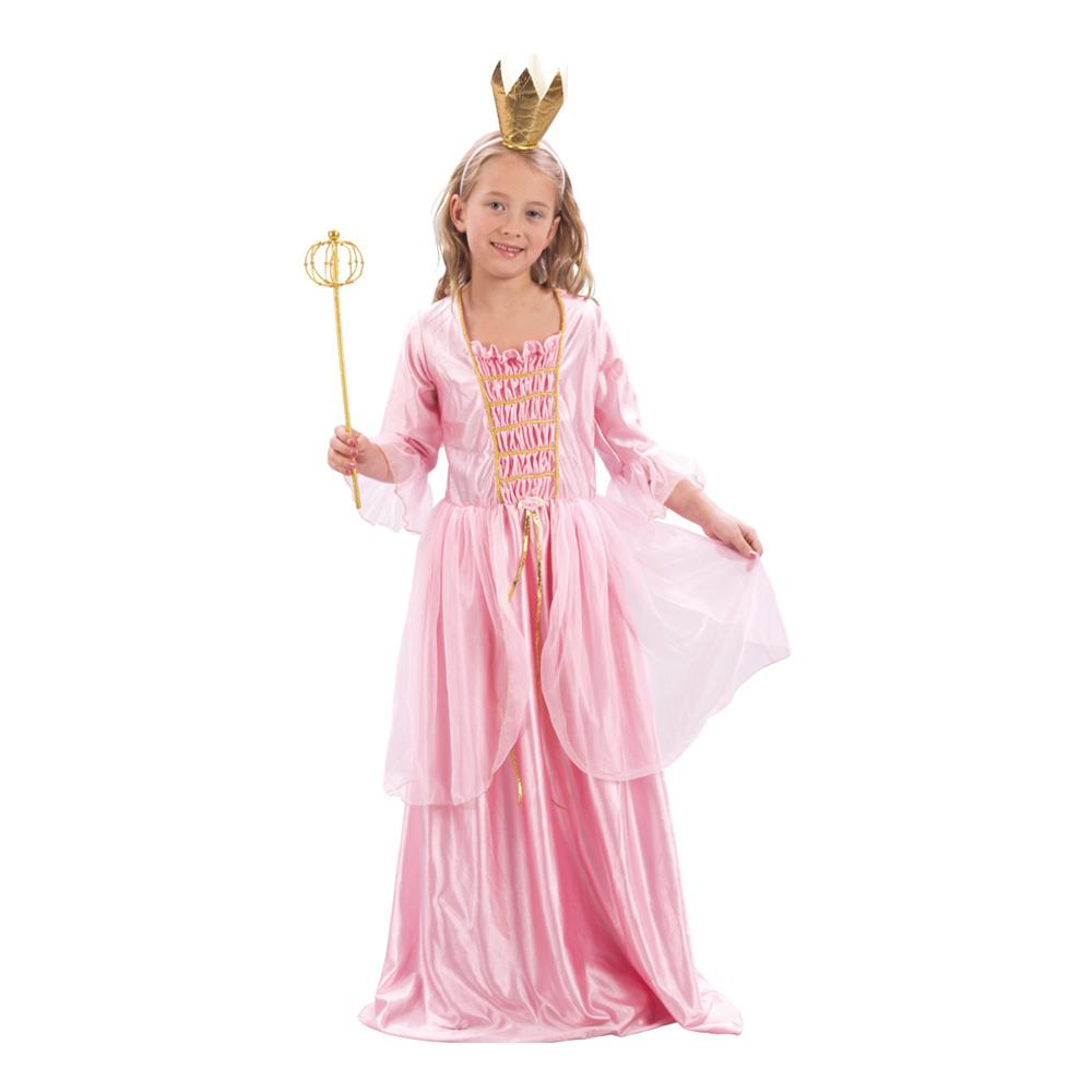 Prinsessa Barn Maskeraddräkt - Medium