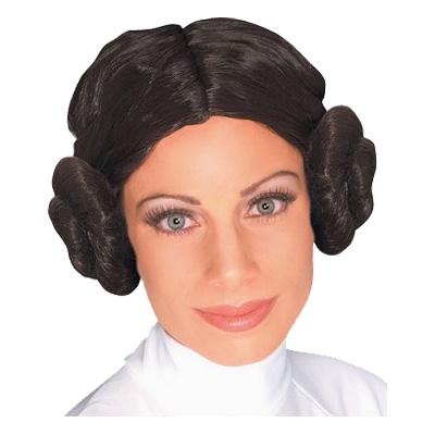 Prinsessan Leia Peruk - One size