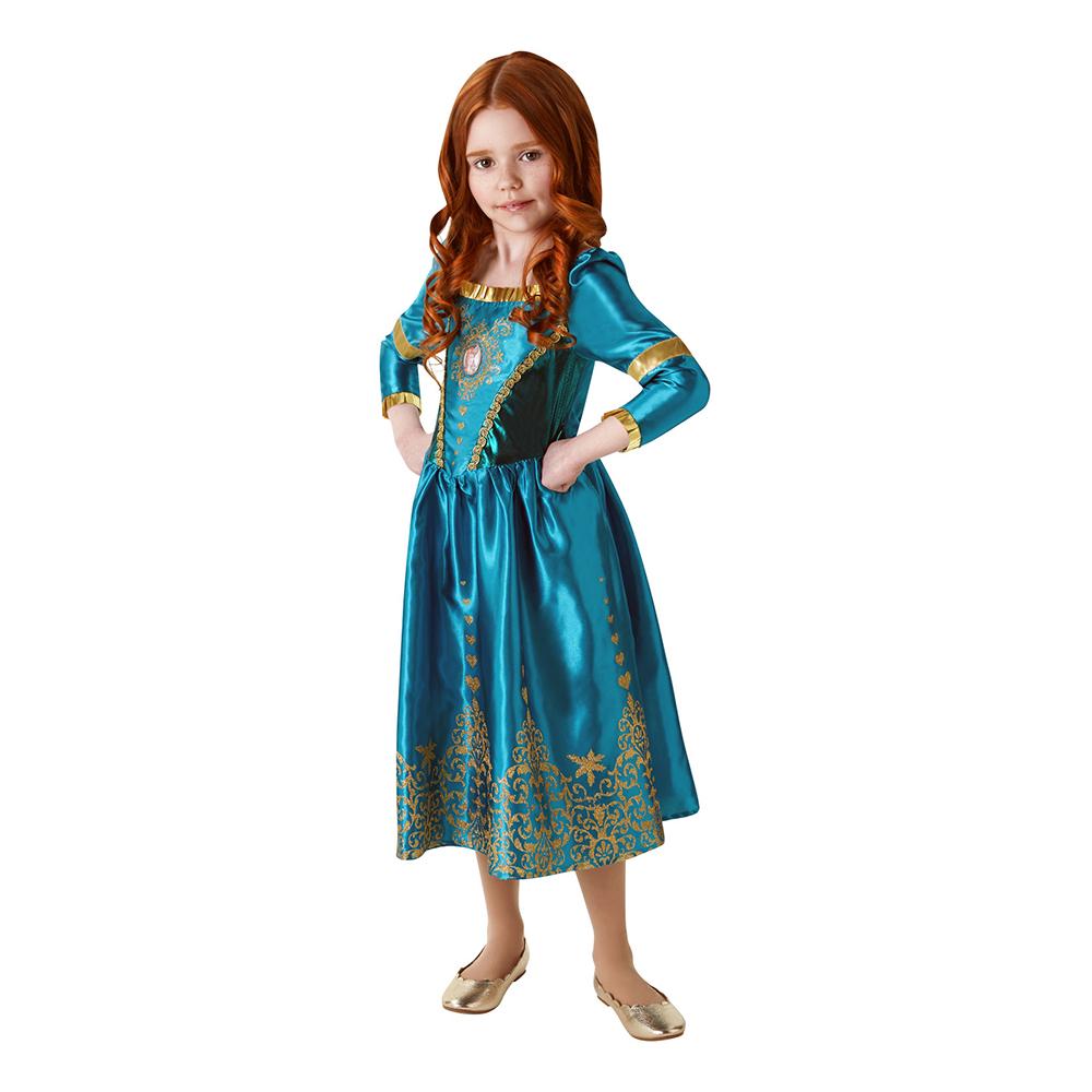 Prinsessan Merida Barn Maskeraddräkt - Small