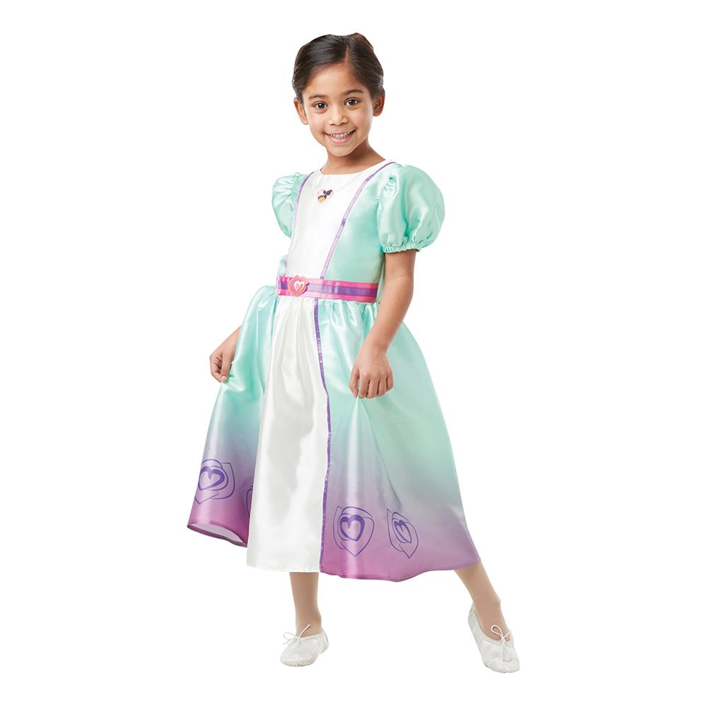 Prinsessan Nella Barn Maskeraddräkt - X-Small