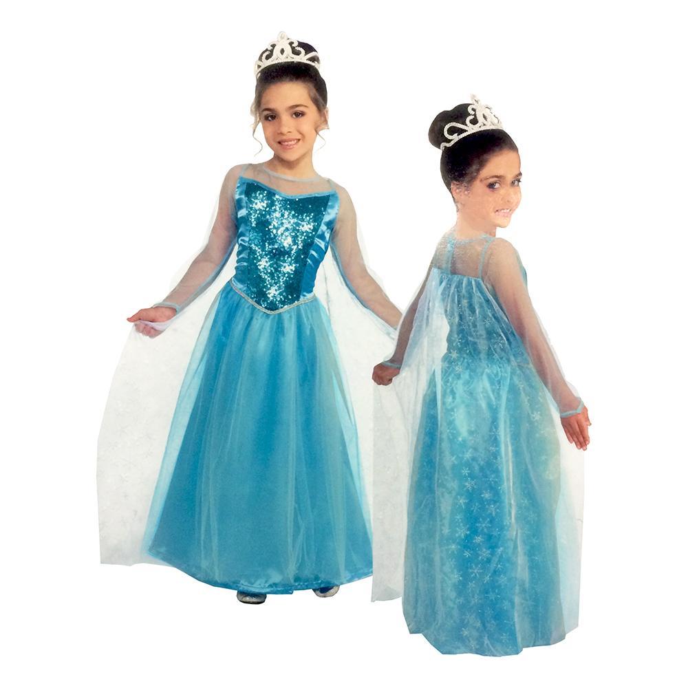 Prinsessklänning Barn Maskeraddräkt - Medium