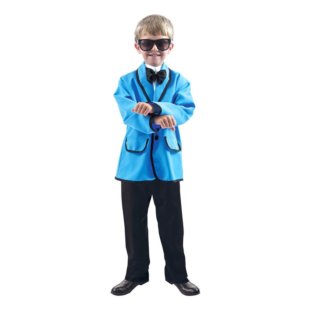 Psy Gangnam Style Barn Maskeraddräkt - Small