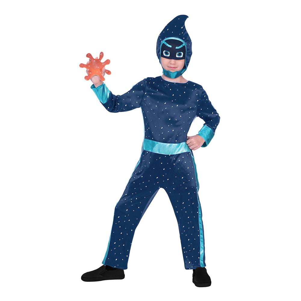 Pyjamashjältarna Night Ninja Barn Maskeraddräkt - Small