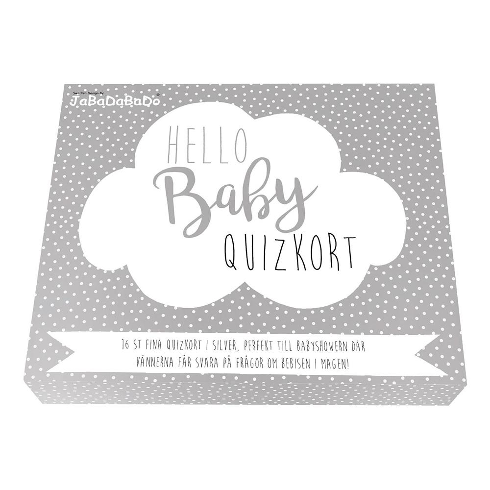 Quizkort Hello Baby