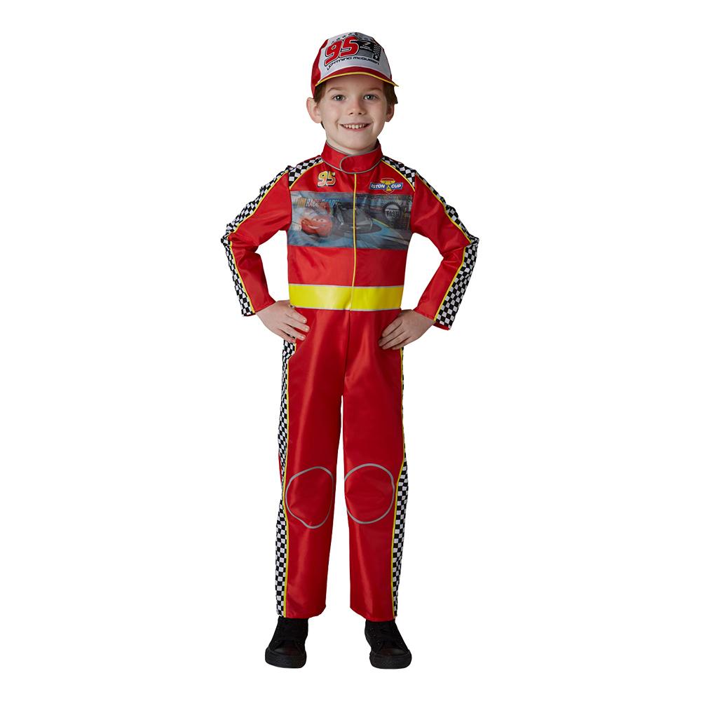 Racing McQueen Cars 3 Barn Maskeraddräkt - Small