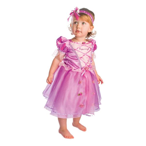 Rapunzel Bebis Maskeraddräkt - X-Small