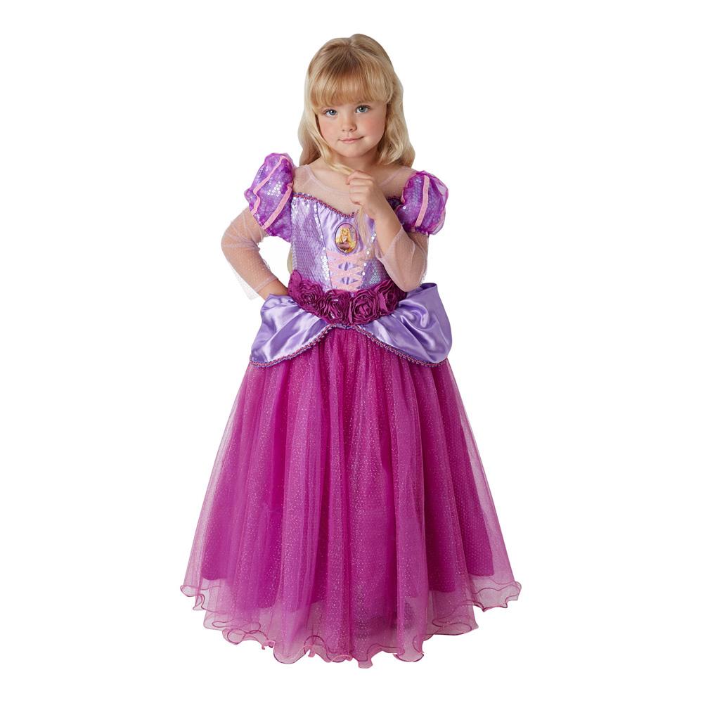 Rapunzel Premium Barn Maskeraddräkt - Small