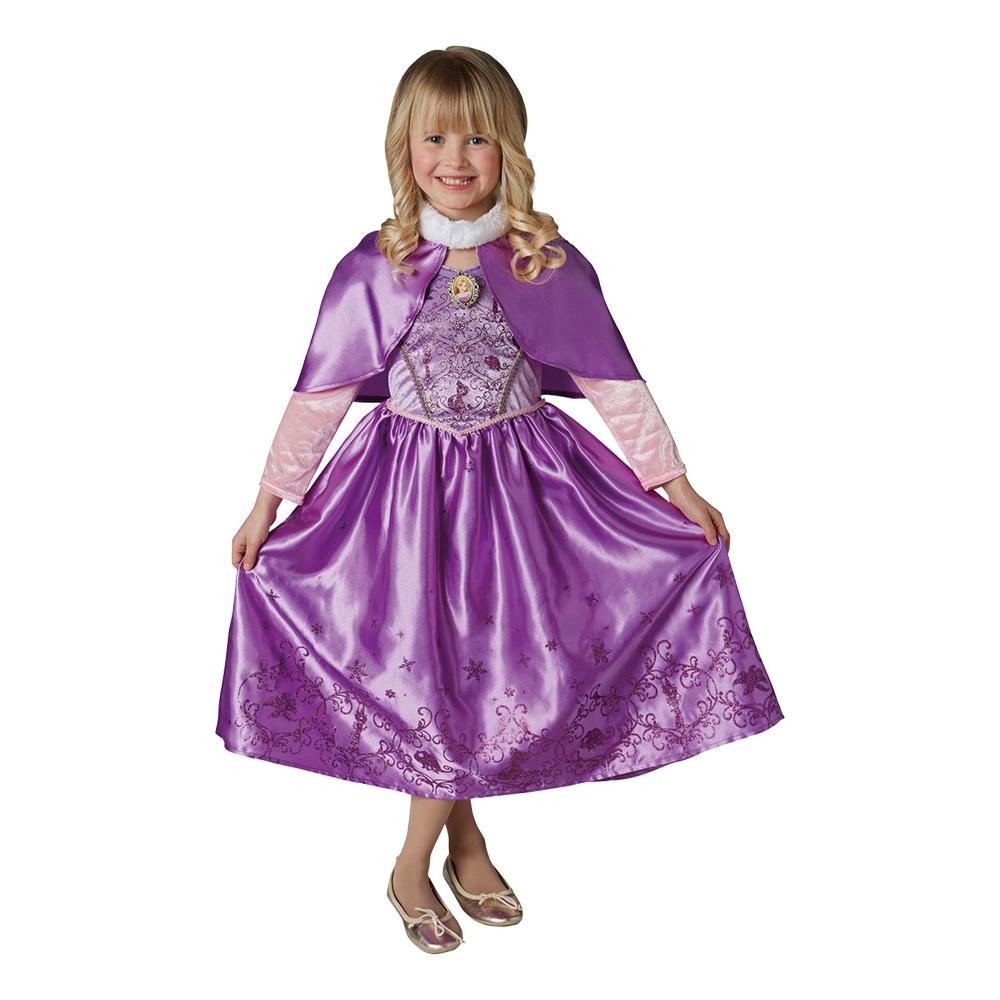 Rapunzel Vinter Barn Maskeraddräkt - Small