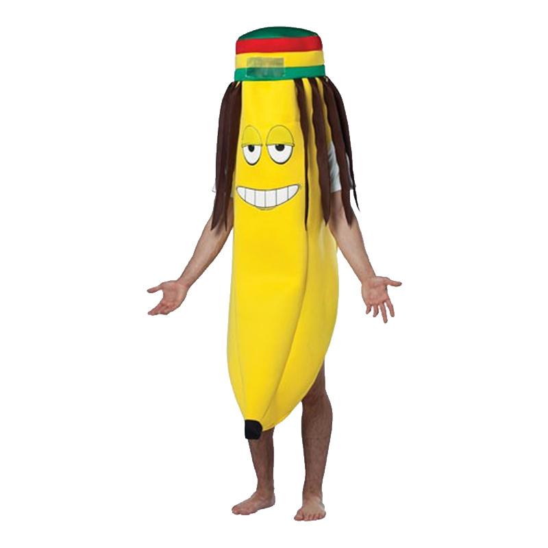 Rasta Banan Maskeraddräkt - One size