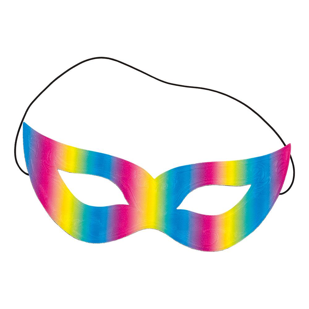 Reflektiv Regnbågsfärgad Ögonmask - One size