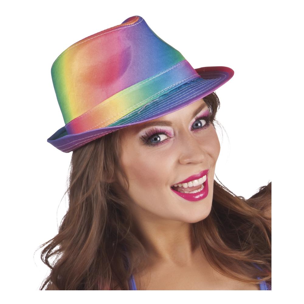 Regnbågsfärgad Hatt