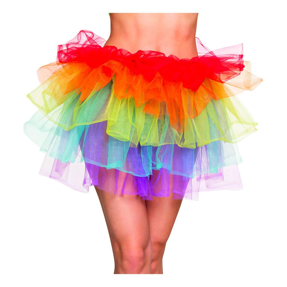 Regnbågsfärgad Kjol - One size