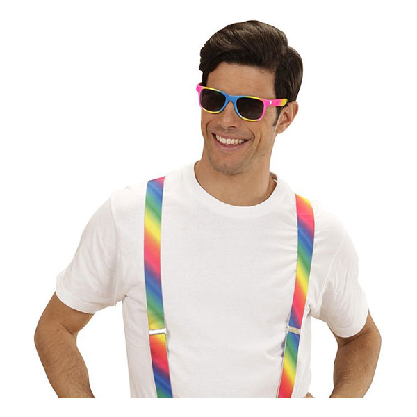 Regnbågsglasögon