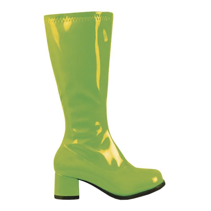Retro Stövlar Neongrön för Barn - 30