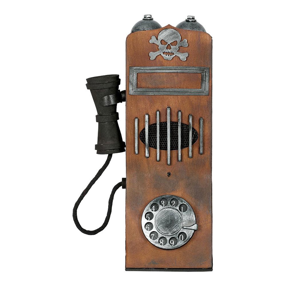 Retro Telefon med Ljud Prop