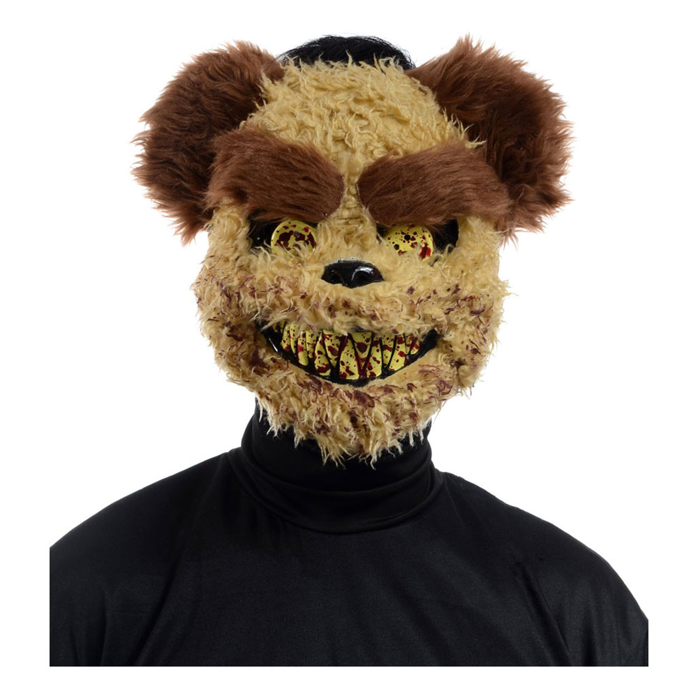 Richard Teddybjörn Mask - One size