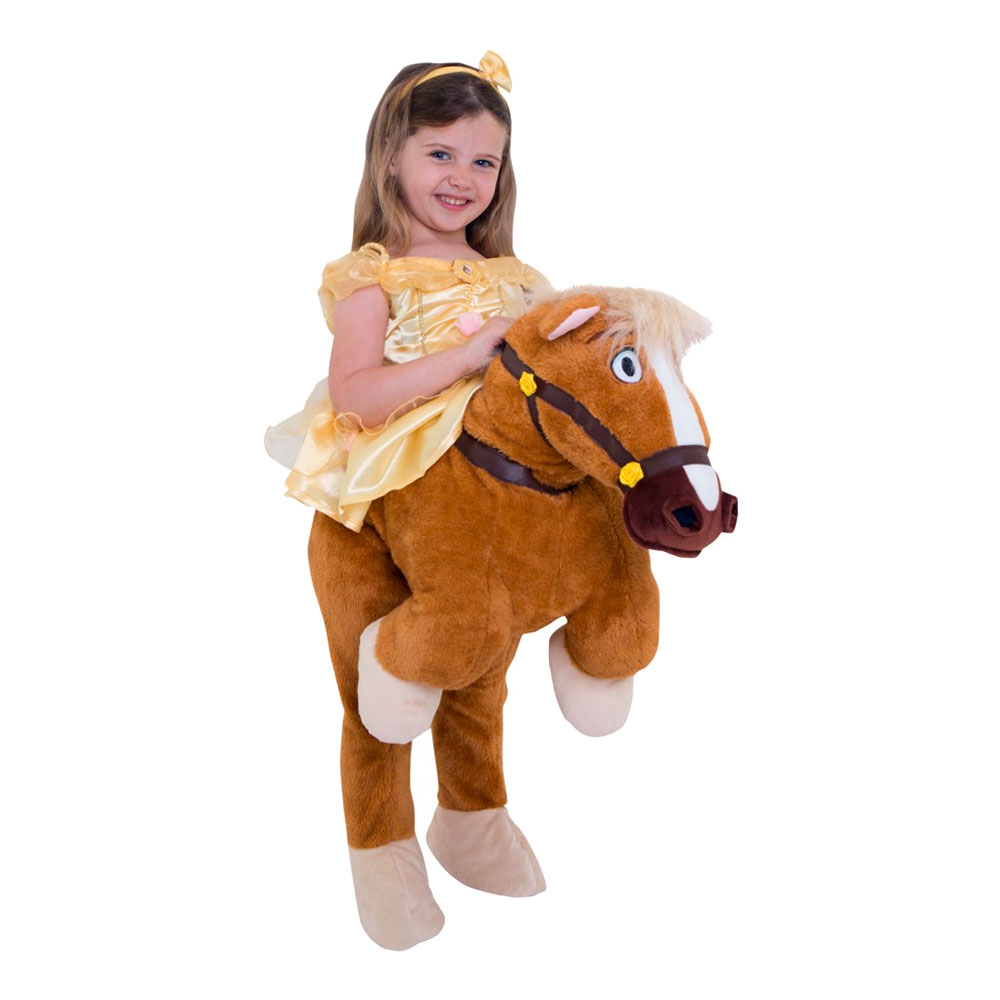 Ridande Belle Häst Barn Maskeraddräkt - Small