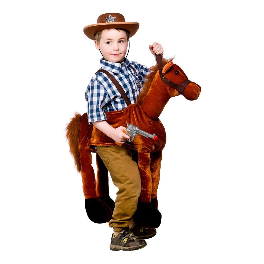 Carry Me Häst Barn Budget Maskeraddräkt - One size