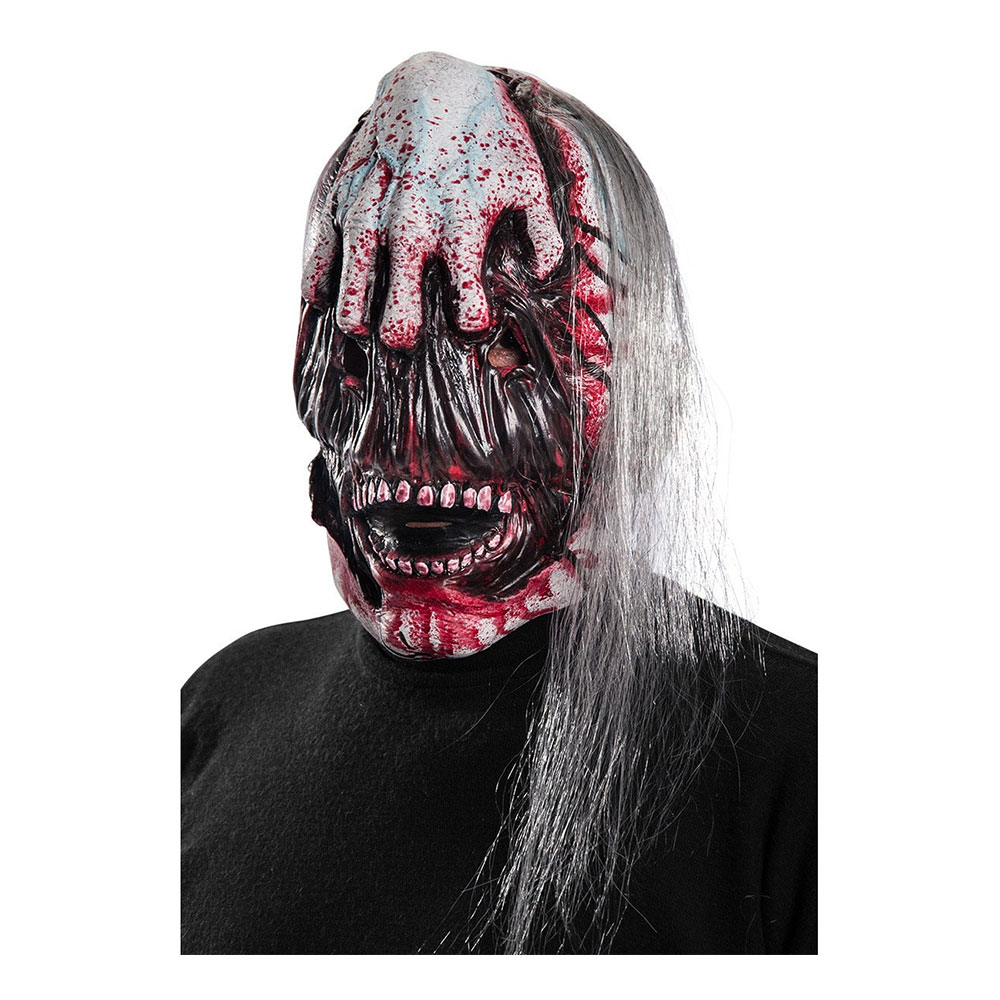 Ripped Face Zombie Mask - One size