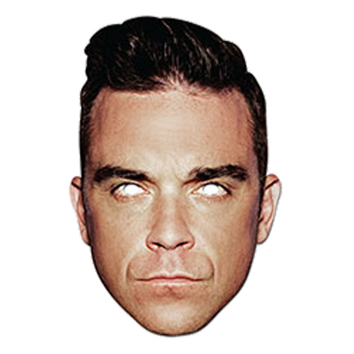 Robbie Williams Pappmask - One size