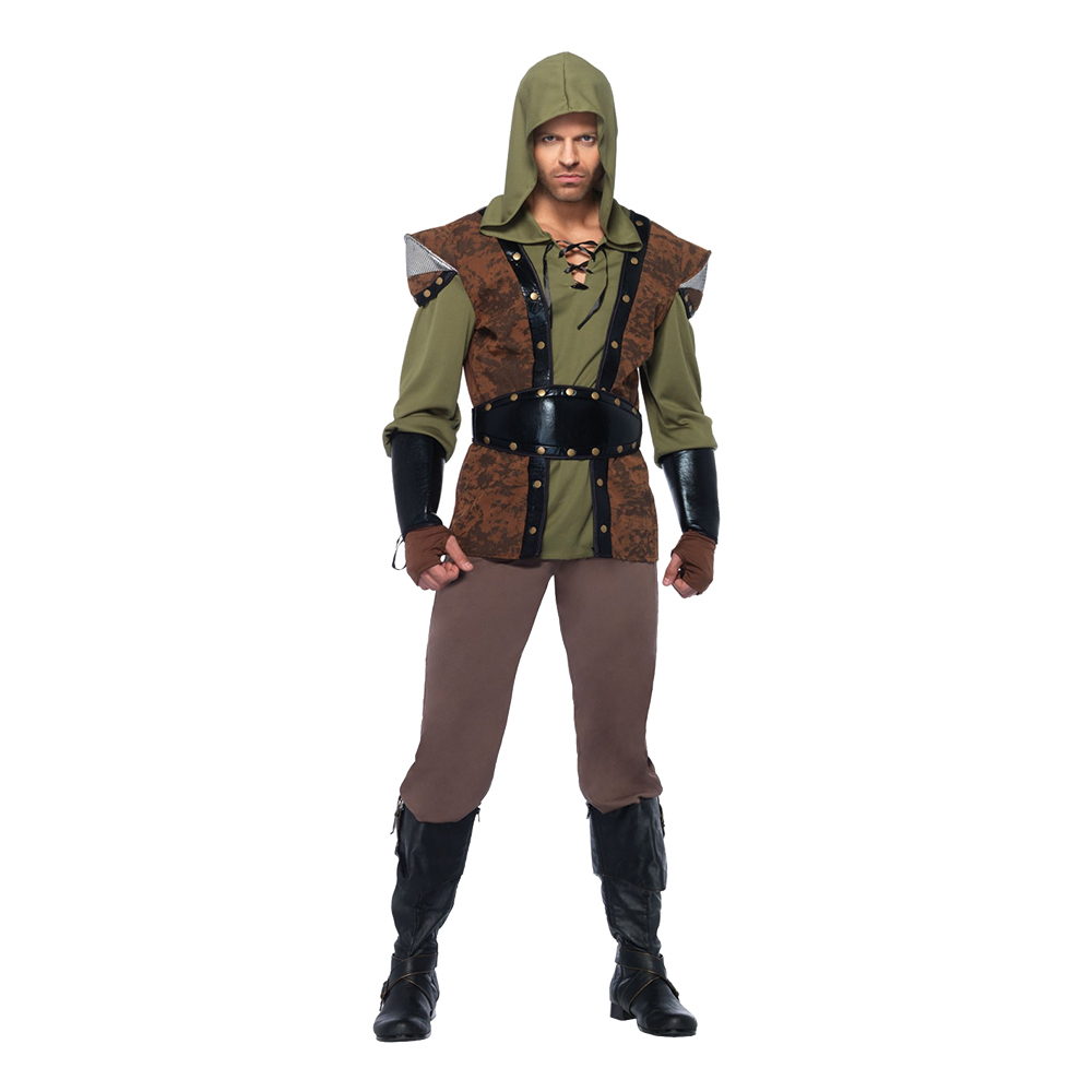 Robin Hood Deluxe Maskeraddräkt - Medium/Large