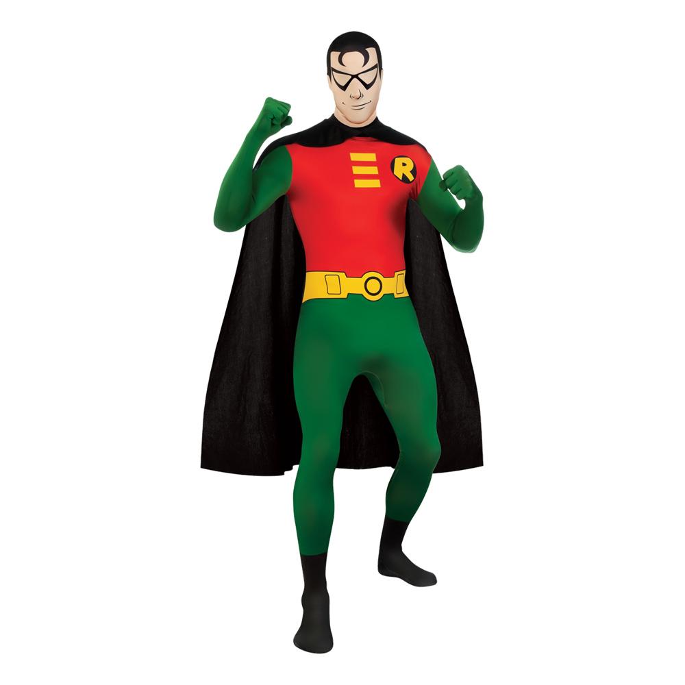Robin Second Skin Maskeraddräkt - Medium