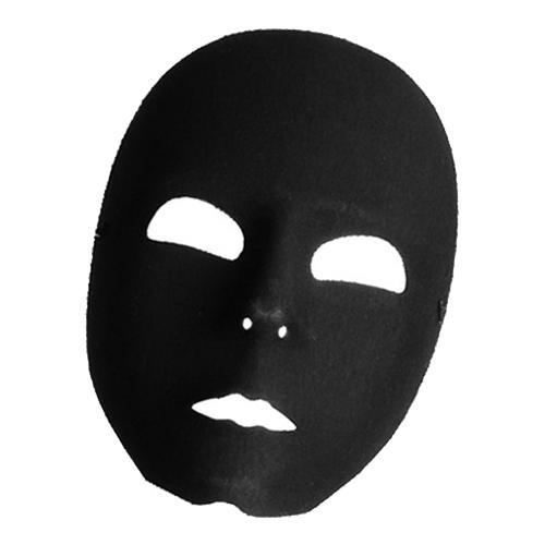 Robotmask - Svart