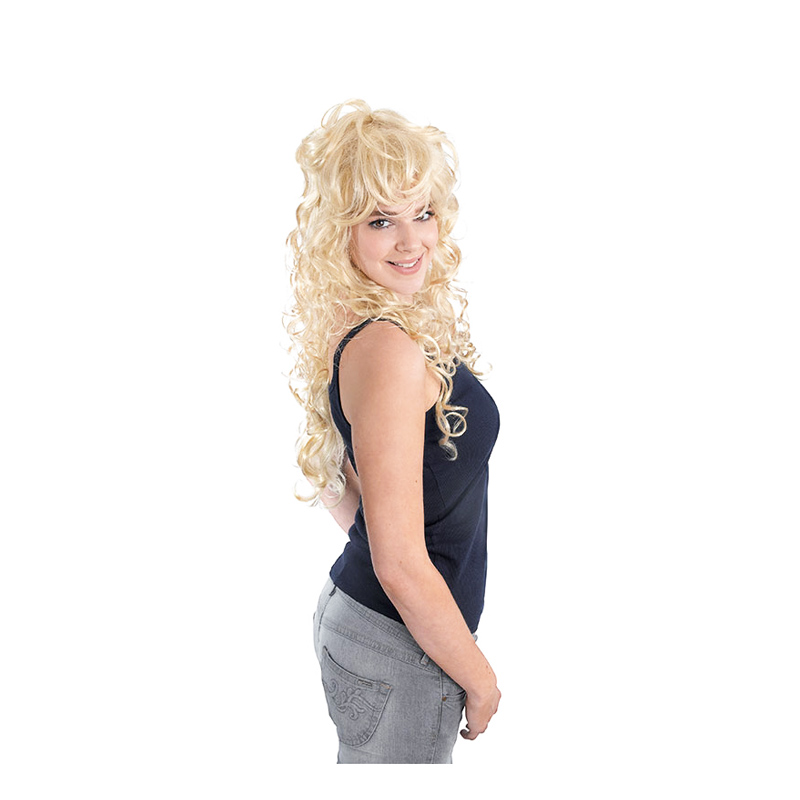 Rockbrud Blond Peruk - One size