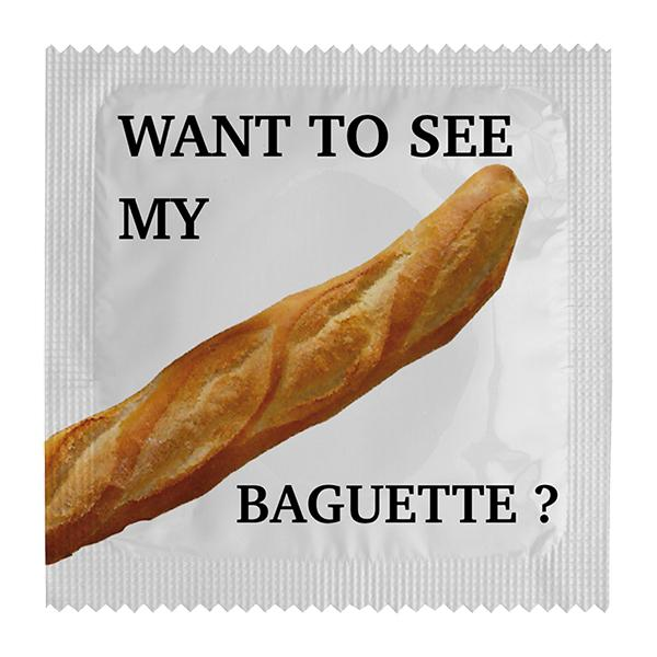 Roliga Kondomer - Baguette