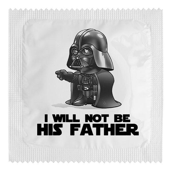 Roliga Kondomer - I will not be his father
