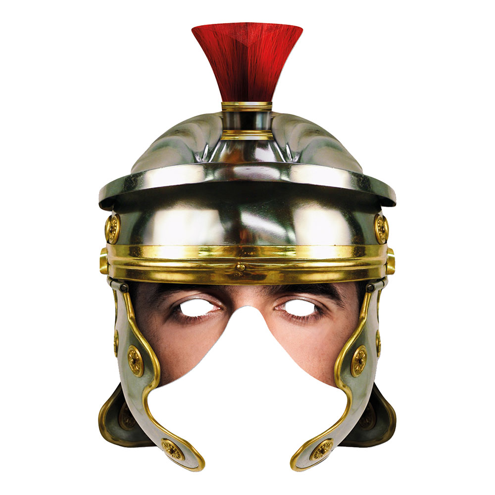 Romersk Gladiator Pappmask - One size