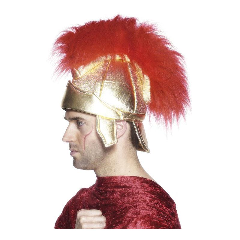 Romersk Hjälm med Plym - One size