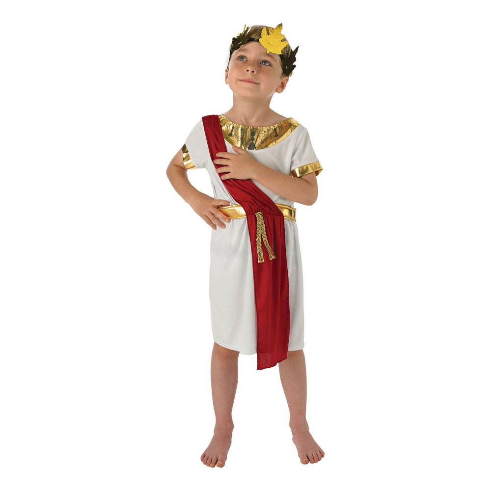 Romersk Pojke Barn Maskeraddräkt - Small