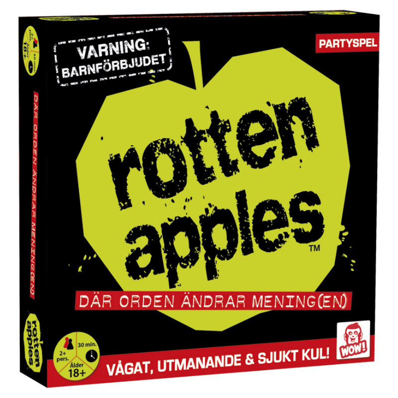 Rotten Apples Partyspel thumbnail