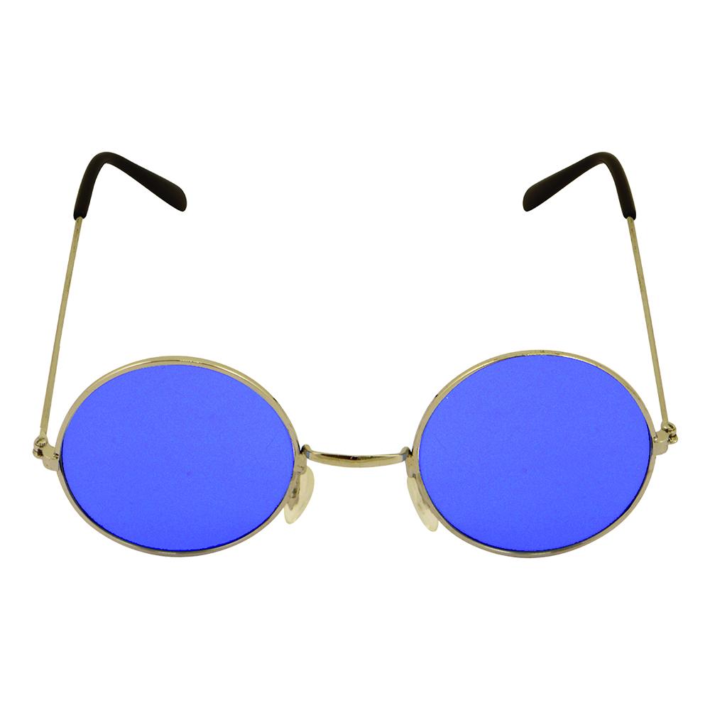 Runda Glasögon Blå