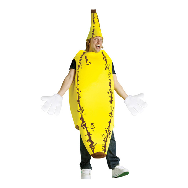 Rutten Banan Maskeraddräkt - One size