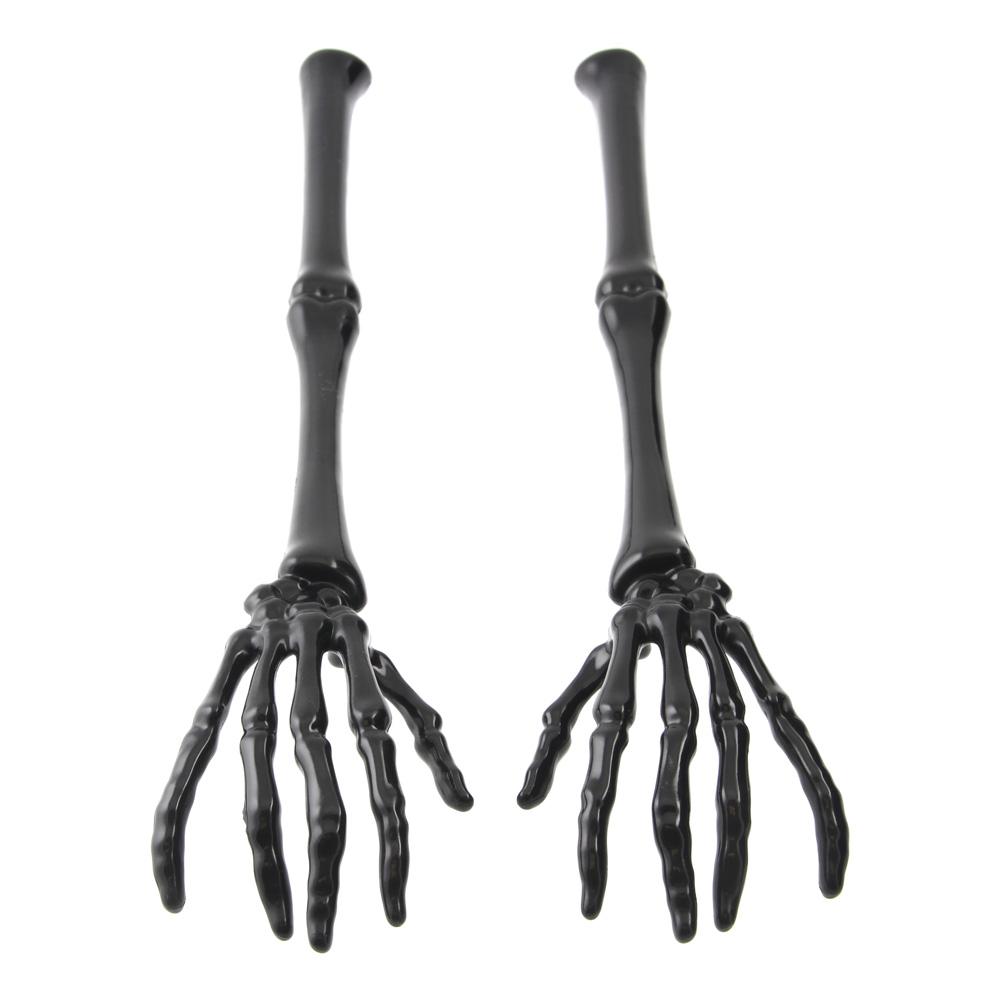 Salladsbestick Skeletthänder