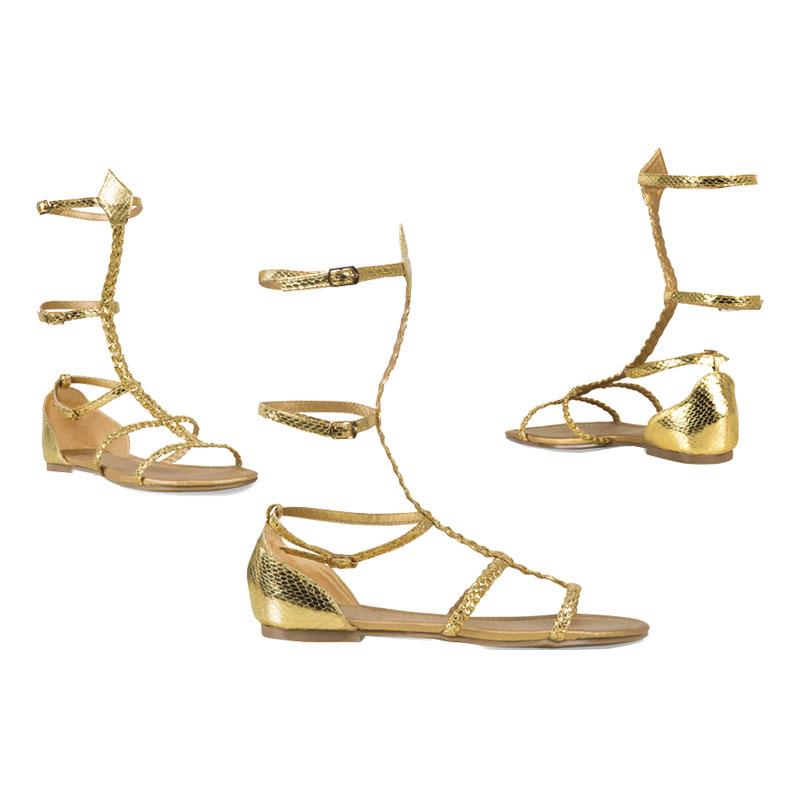 Sandaler Guld Romerska - Storlek 37