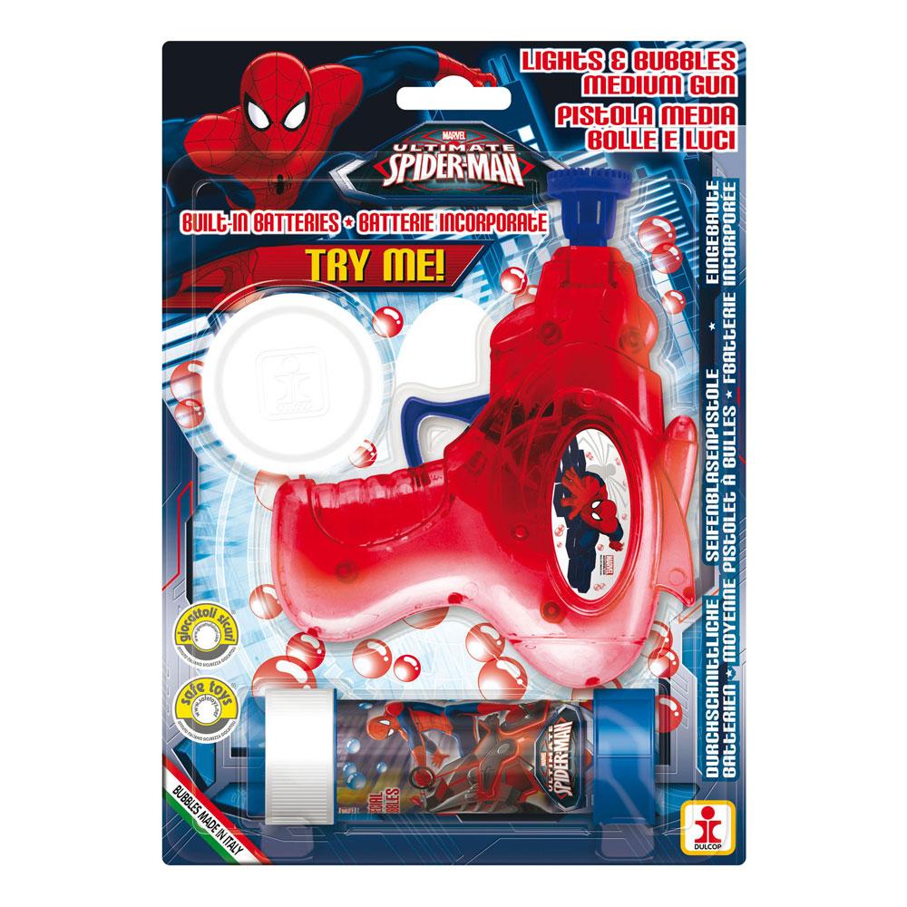 Såpbubbelpistol Spiderman