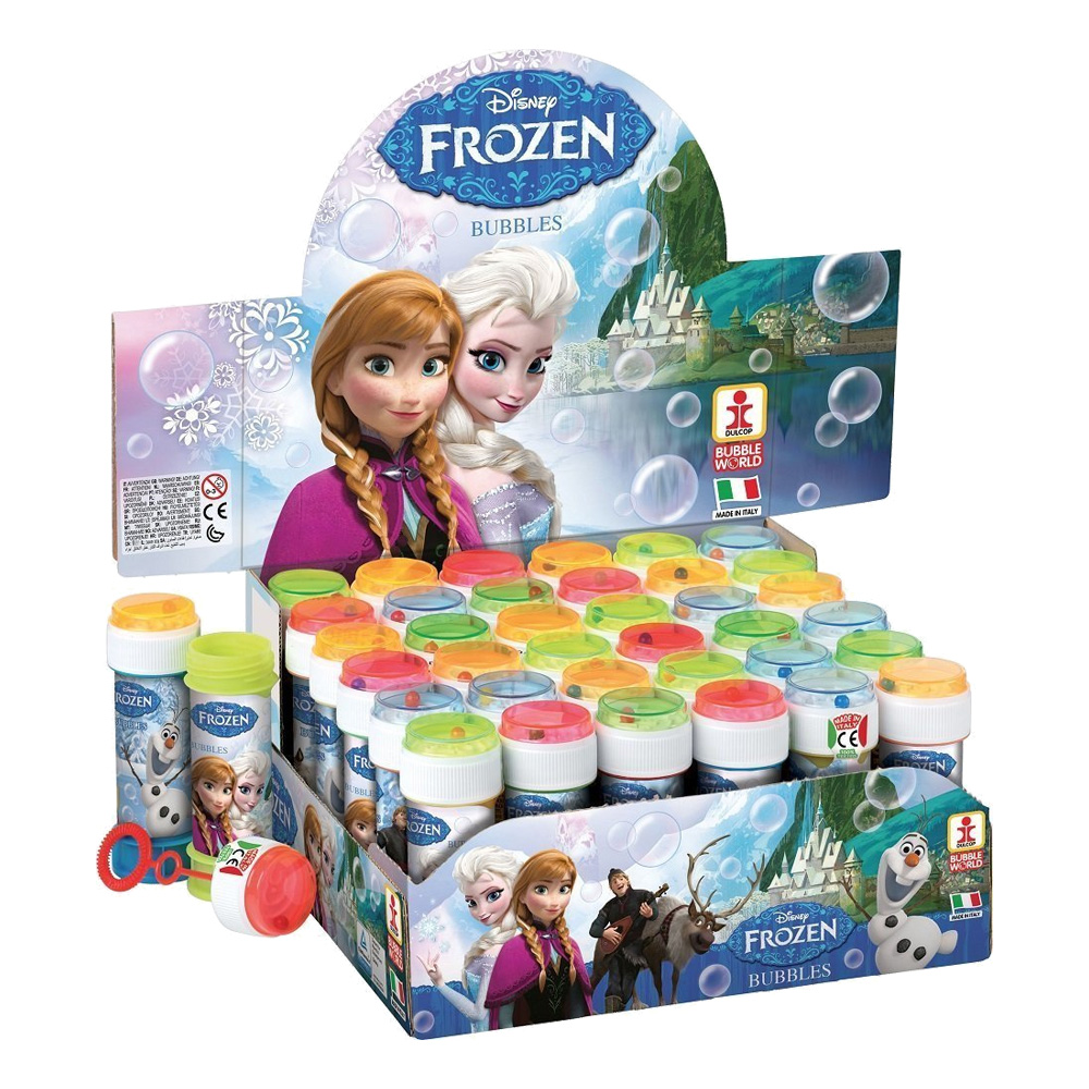 Såpbubblor Frost / Frozen - 36-Pack