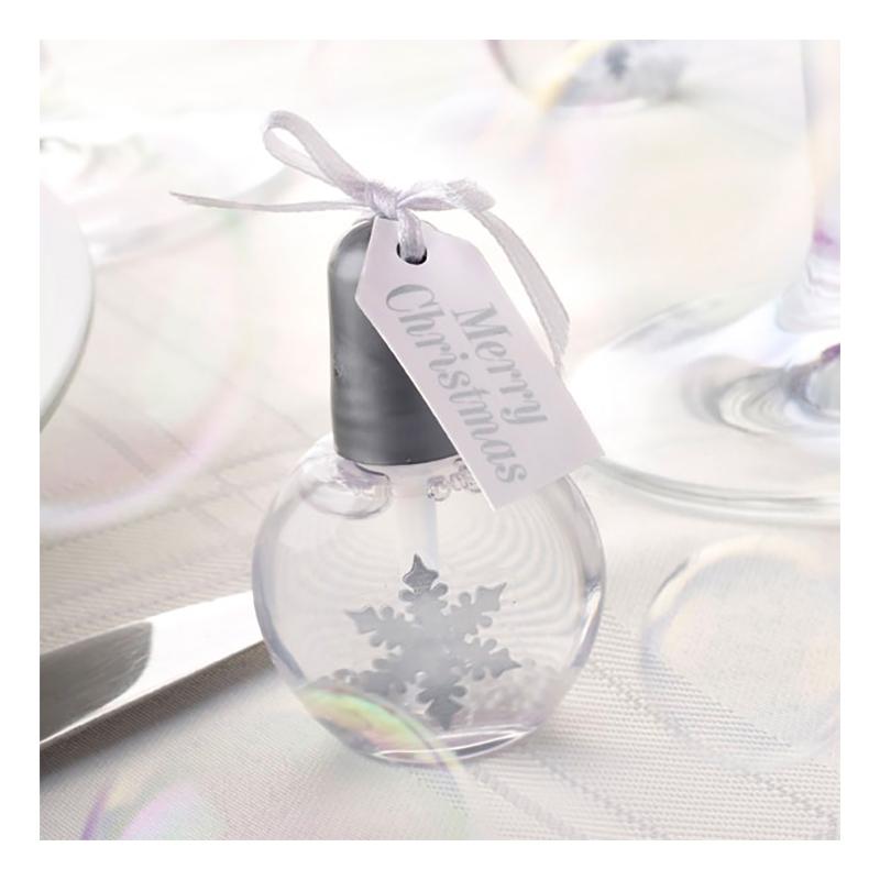 Såpbubblor Snöflinga - 6-pack